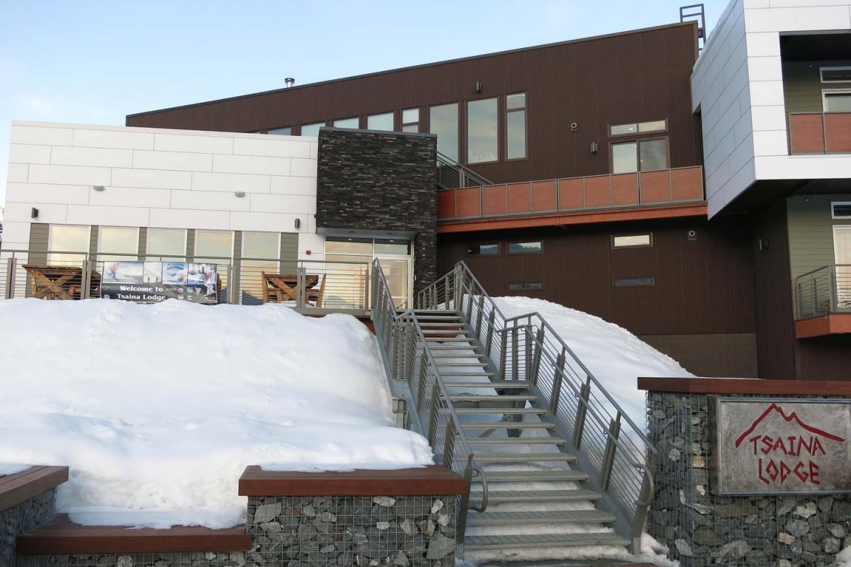 Bild der Tsaina Lodge - Unterkunft der Valdez Heli Ski Guides