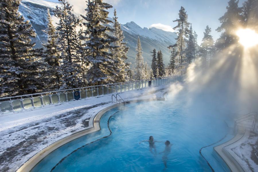 Banff Hot Spring Thermalquellen