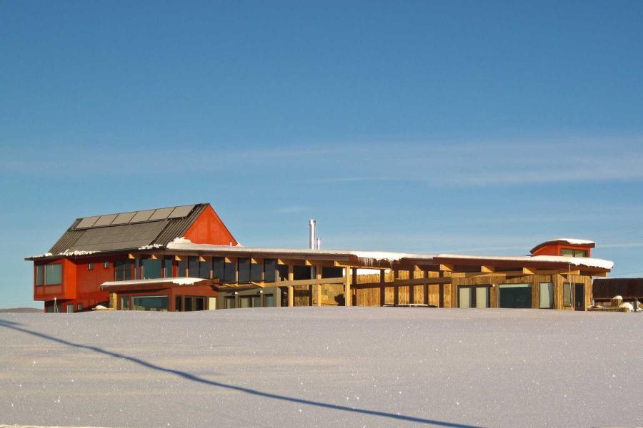Ferienhaus in der Nähe von Aspen Snowmass - Aussenansicht im Winter