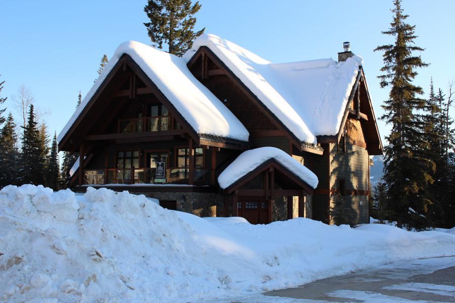 Eine unserer privaten Lodges in Kicking Horse