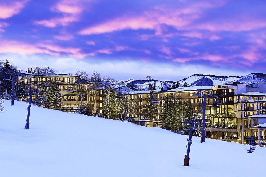 Westin Snowmass Hotel - Sicht von der Piste aus
