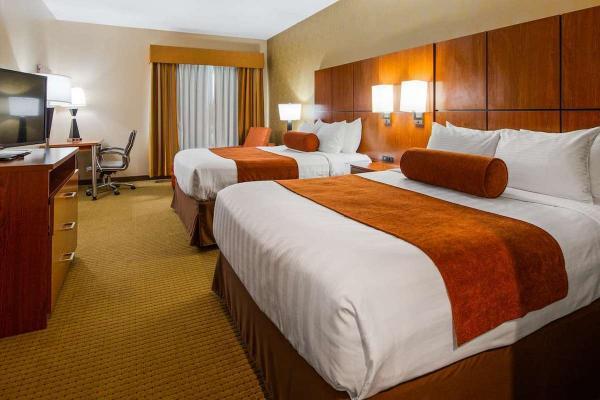Best Western Plus - CottonTree Inn - Sandy Utah - Zimmer mit 2 Queen Size Betten