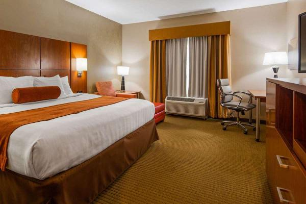 Best Western Plus - CottonTree Inn - Sandy Utah - Zimmer mit King Size Bett