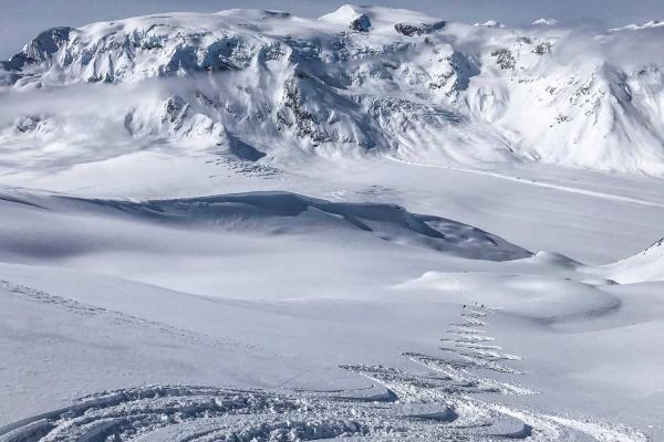 Last Frontier Heliskiing - Alpines Gelände