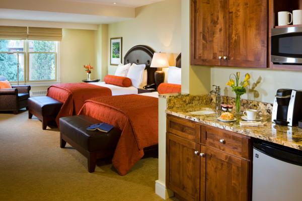 Limelight Hotel - Grand Deluxe Zimmer mit 2 Queen Size Betten