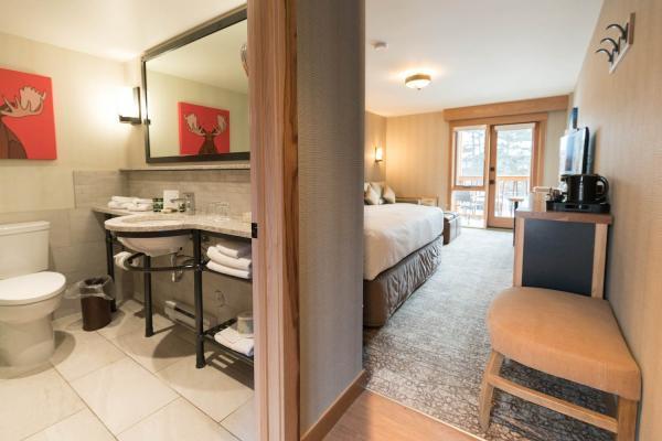 Moose Hotel Banff - Zimmer mit King Size Bett