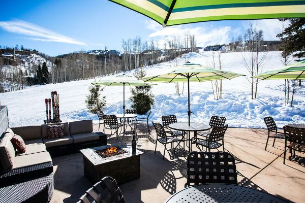 Timberline Apartments Snowmass - Apres Ski an der Piste