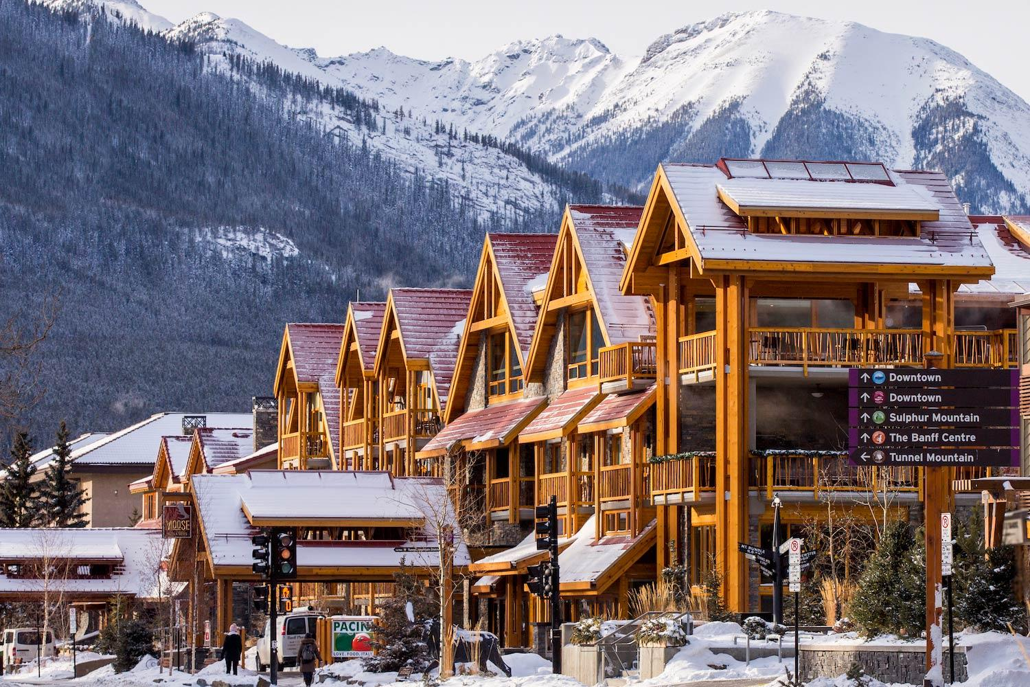 the moose hotel and suites     in banff  alberta