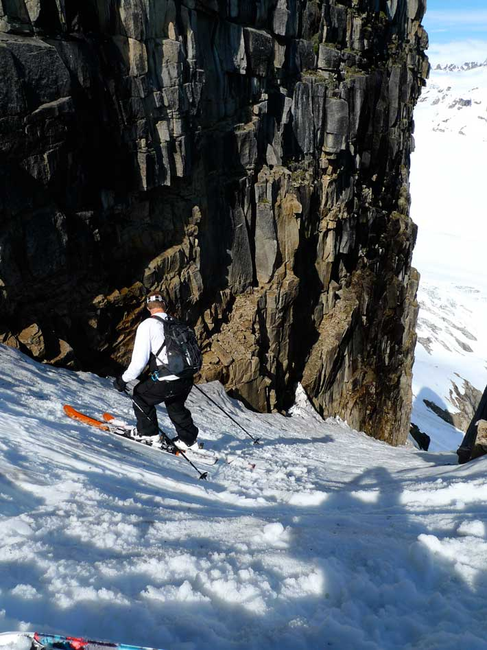 Heliskiing - Kings and Corn - Scharte in den Tordrillo Mountains