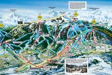 Skigebiete Kanada