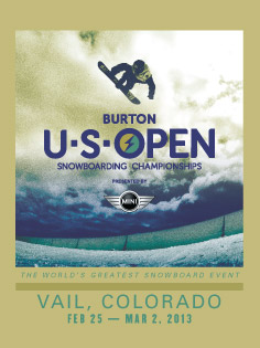 2013 Burton US Open in Vail, Colorado