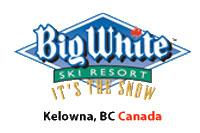 Skigebiet Big White British Columbia Kanada